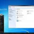 SevenVG Black RTM Theme for Win XP  full screenshot