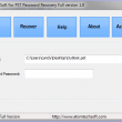 Atom TechSoft PST Password Recovery 1.0 full screenshot