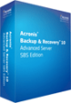 Acronis Backup and Recovery 10 Advanced Server SBS Edition build 11639 full screenshot