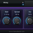 Blue Cat's Phaser for Mac OS X 3.1 full screenshot
