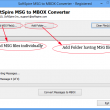 Software4Help MSG to MBOX Converter 1.7.7 full screenshot