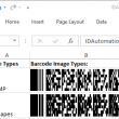 PDF417 Native Excel Barcode Generator 17.07 full screenshot
