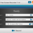 Free Screen Recorder 7.1.5 full screenshot