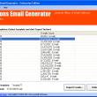 Millions Email Generator Lite Edition 8.1.0.257 full screenshot