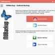 MOBackup - Outlook Backup Software 8.31 full screenshot