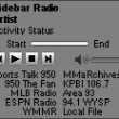 Sidebar Radio 2.4 full screenshot