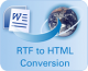RTF to XHTML Converter 2.1.1 full screenshot