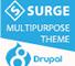 Surge Multipurpose Responsive Drupal 8 Theme 1 full screenshot
