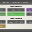 Free Audio Video Pack 2.13 full screenshot