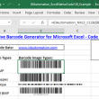 Code-128 Native Excel Barcode Generator 16.09 full screenshot