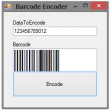 .NET Barcode Font Encoder Assembly 14.05 full screenshot