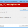 Remove Adobe PDF Password Protection 3.9.6 full screenshot