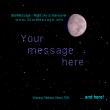 StarMessage moon phases screensaver MAC 5.5.6 full screenshot