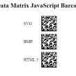 GS1 DataMatrix JavaScript Generator 17.04 full screenshot