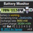 Battery Monitor 7.4 full screenshot
