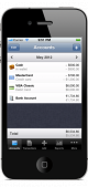Mayvio Budget for iPhone, iPad, iPod touch 1.4.1 full screenshot