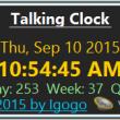 Talking Clock 2.9 full screenshot