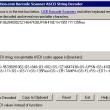 Barcode Scanner ASCII String Decoder 2013 full screenshot
