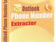 Outlook Phone Number Extractor 6.6.3.22 full screenshot
