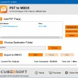 Import Email Account Outlook 2016 to MBOX 1.0 full screenshot