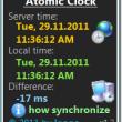 Atomic Clock 1.9 full screenshot