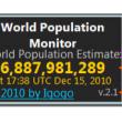 World Population Monitor 3.6 full screenshot