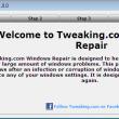 Tweaking.com - Windows Repair Portable 3.9.26 full screenshot