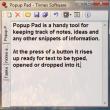 Popup Pad 1.6 full screenshot
