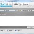 MSG to vCard Converter 4.6.8 full screenshot