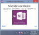 OneNote Gem Monitor 1.0.0.9 full screenshot