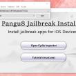 Pangu8 Jailbreak Installer 1.0 full screenshot