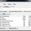 Filename Lister 1.3 full screenshot