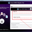 Aryson MBOX Migrator 20.9 full screenshot