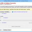 Import EML to Zimbra desktop 3.1.6 full screenshot