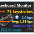 Keyboard Monitor 2.6 full screenshot