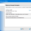 Remove Unused Contacts for Outlook 4.9 full screenshot