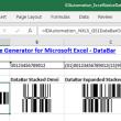 Excel GS1 DataBar Barcode Generator 17.12 full screenshot