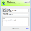 Zeta Uploader - Send large Files online 2.1.0.106 full screenshot
