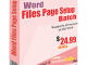 Word File Page Setup Batch 3.5.1.12 full screenshot