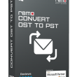 Remo Convert OST to PST 1.0.0.8 full screenshot