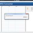 GainTools MBOX to MSG Converter 1.0.1 full screenshot