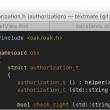 TextMate for Mac OS X 2.0 full screenshot