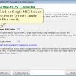 Bulk Convert MSG to PST 6.3.8 full screenshot