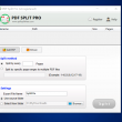 PDF Split Pro 3.3.1 full screenshot