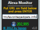 Alexa Monitor 1.4 full screenshot