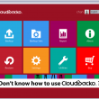 CloudBacko Lite for Windows 2.1.0.0 full screenshot