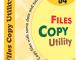 File Copy Utility 3.1.3.22 full screenshot