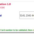 Credit Card Validator 1.8 full screenshot