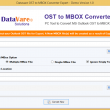 DataVare OST to MBOX Converter Expert 1.0 full screenshot