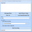 Convert White To Transparent In Multiple Images Software 7.0 full screenshot